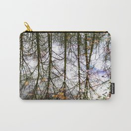 Painted In Puddle, Issaquah's Beauty Carry-All Pouch