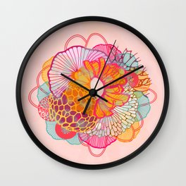LUXE Bloom 1 Wall Clock