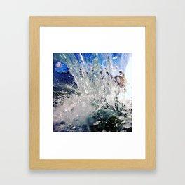 Crystal Cylinder Framed Art Print