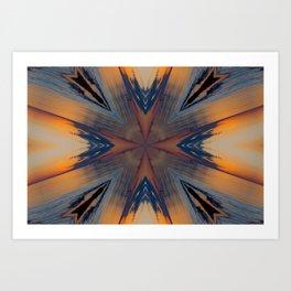 Twilight Moods Kaleidoscope Art Print