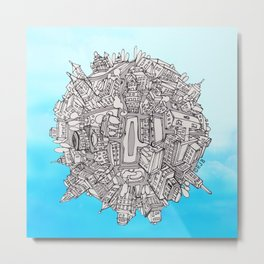 Small World Metal Print