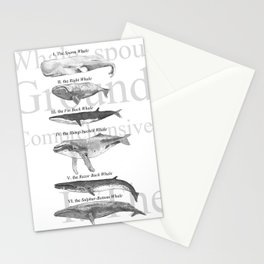 I. The Folio Whale Stationery Cards