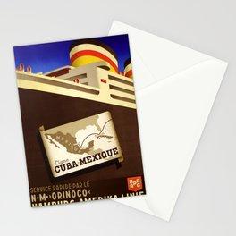 vechio Cuba Mexique Stationery Cards