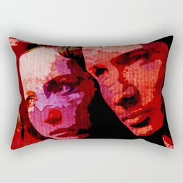 TXF - Mulder and Scully  Rectangular Pillow