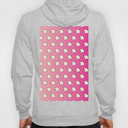 Pink Fried Eggs Pattern Hoody