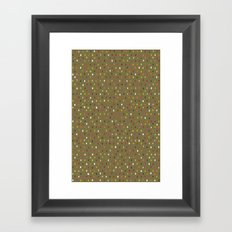 pip spot old gold Framed Art Print