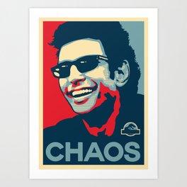 'Chaos' Ian Malcolm (Jurassic Park) Art Print