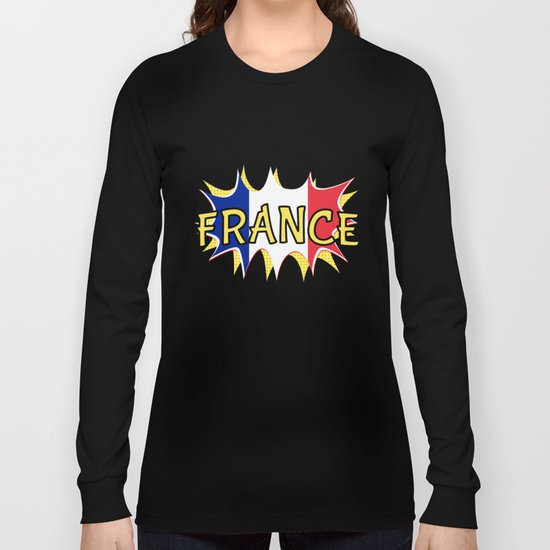 France Long Sleeve T-shirt