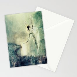 Spirit of the Night by john Atkinson Grimshaw Stationery Cards