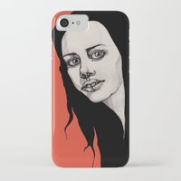 lip iPhone & iPod Cases featuring Lip Ring by fossilized