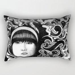 gritty Rectangular Pillow