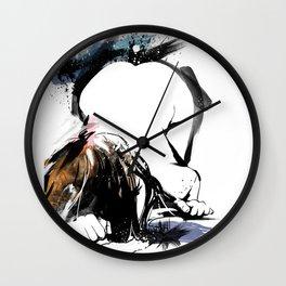 Shibari - Japanese BDSM Art Painting #8 Wall Clock