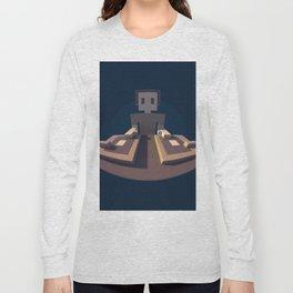 DJ Voxel - discjockey logo Long Sleeve T-shirt