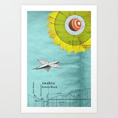 Spacecraft Art Print