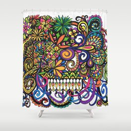 Life's a Circus Shower Curtain