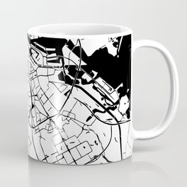 Amsterdam Minimal Map Coffee Mug