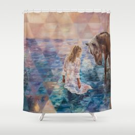 The Secret Seekers Shower Curtain