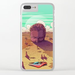 Behold the Creator Clear iPhone Case