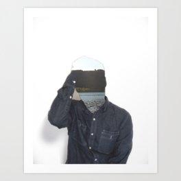Absent 001 Art Print
