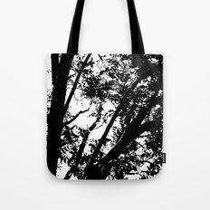 Pecan Tree Silhouette Tote Bag