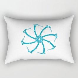 Ice Tool Spindle Rectangular Pillow