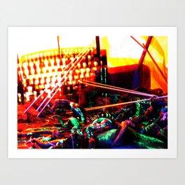 Abduct 1 Art Print
