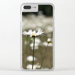 Wildflowers in an Oregon Field Clear iPhone Case