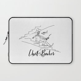 Chet - Great Jazz Musician Laptop Sleeve