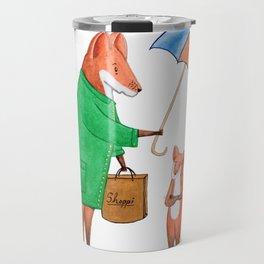 Fox friends Travel Mug