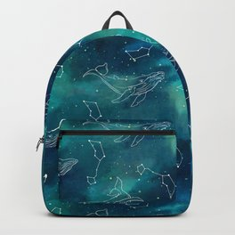 whale universe Backpack