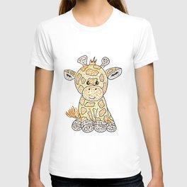 Tiny giraffe T-shirt
