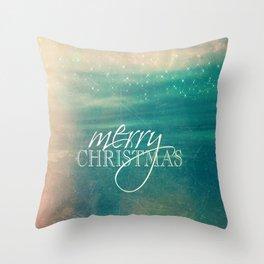 Merry Christmas Fairytale Design Throw Pillow