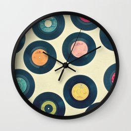 All of Our Yesterdays Wall Clock