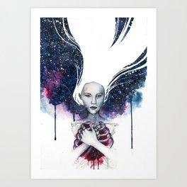 Love Ruins Everything Art Print