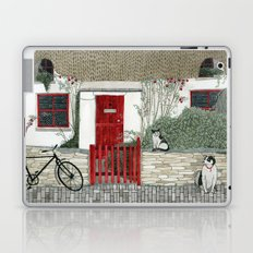 Red Door Cottage Laptop & iPad Skin
