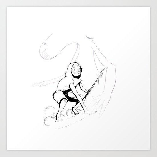 henon Art Print