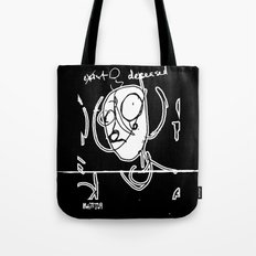 Exist and Deceased Tote Bag