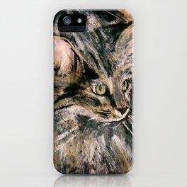 Norwegian Forest Cat iPhone Case