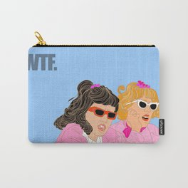 WTF - Grease Movie Vibes Got Me Like - Fan Art Digital Throwback Drawing Carry-All Pouch