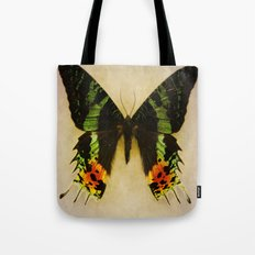 Sunset Moth Wing Tote Bag