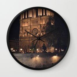 notredame Wall Clock