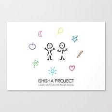 ISHISHA PROJECT by ISHISHA PROJECT Canvas Print