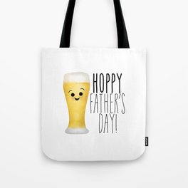 Hoppy Father's Day Tote Bag
