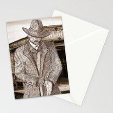 Wyatt Earp Poster Stationery Cards