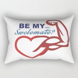 Be Mine? Rectangular Pillow