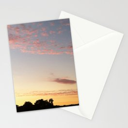 Pink California Sunset Stationery Cards