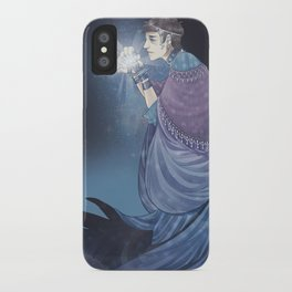 Moon God iPhone Case