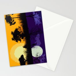 It's Not Always A Stark Contrast Stationery Cards