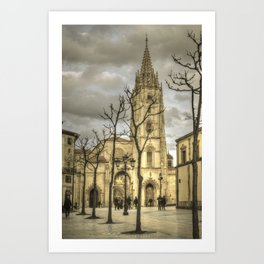 Oviedo memories #3 Art Print