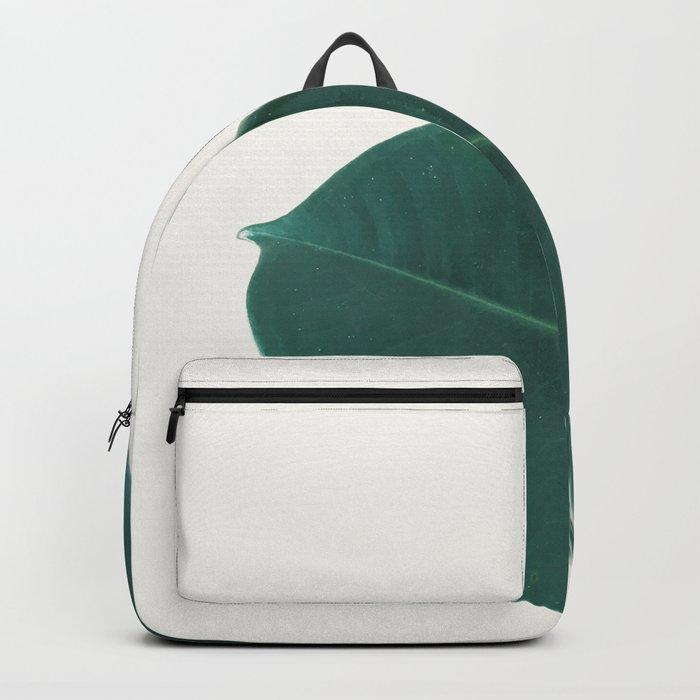 Rubber Fig Leaves I Backpack